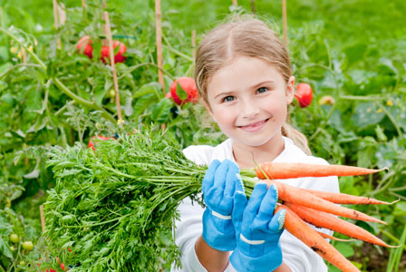 teach your kids to garden