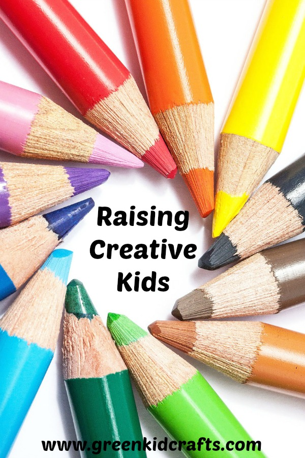 Part one is our Raising Creative Kids series. Tips for getting started in raising creative kids.