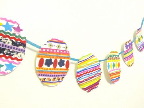 Easter Banner Garland