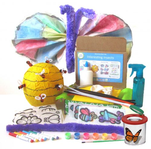 Looking for educational toys, science kits, monthly crafts for kids, monthly subscriptions for kids, a monthly craft box or kids craft subscription? Green Kid Crafts, kids craft subscription and maker of the best subscription boxes, including award-winning arts and craft subscription boxes and best monthly subscription boxes, has created this awesome Interesting Insects craft and science box for kids.