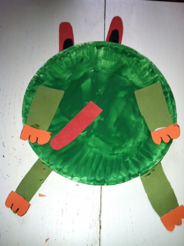 red-eyed tree frog craft