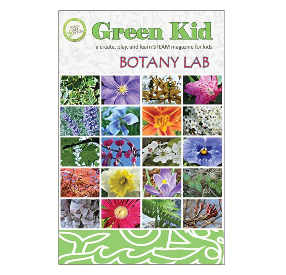 Botany Lab Magazine Green Kid Crafts