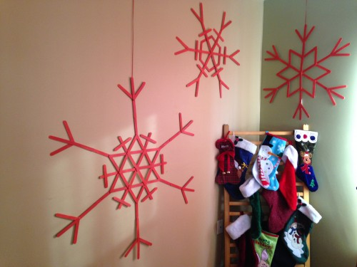 Large Snowflake Wall Art