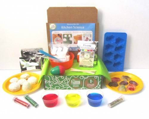 Kitchen Science Discovery Box Green Kid Crafts