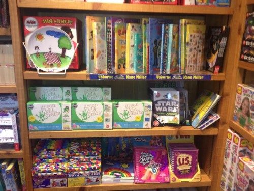 Green Kid Crafts in toy store