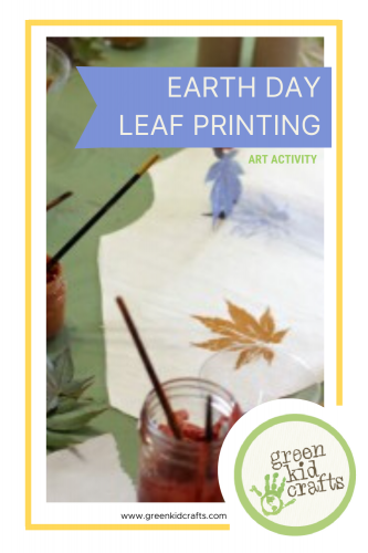 Earth Day Leaf Printing