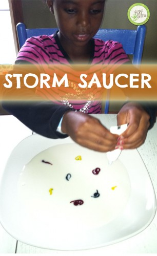 Storm Saucer | Green Kid Crafts