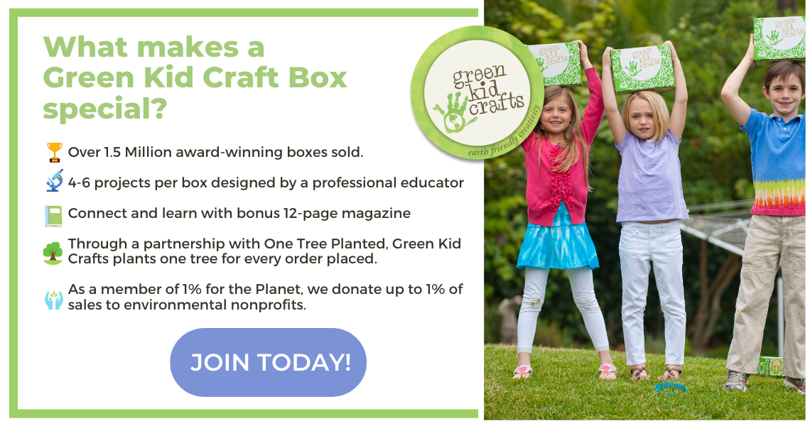 Join Green Kid Crafts today