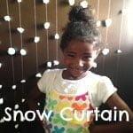 Snow Curtain | Green Kid Crafts