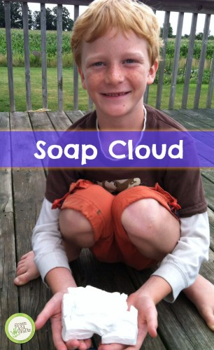 Soap Cloud | Green Kid Crafts