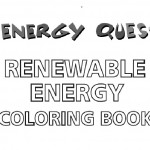 Renewable energy coloring book