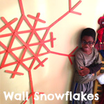 Wall Snowflakes | Green Kid Crafts