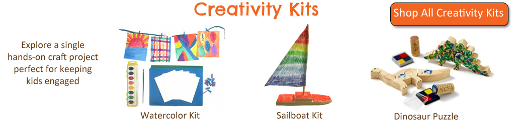 Green Kid Crafts Creativity Kits