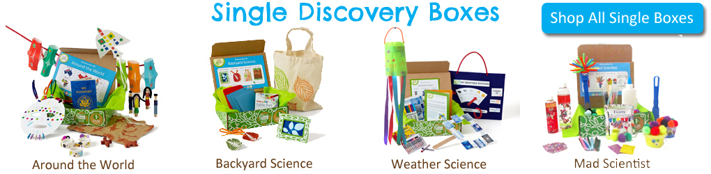 Green Kid Crafts Discovery Boxes