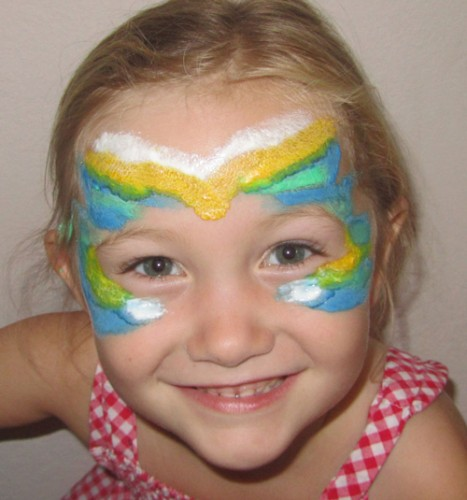 non-toxic face paint recipe