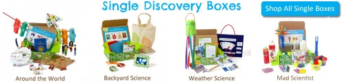 Discovery Boxes for kids