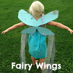 Fairy wings craft