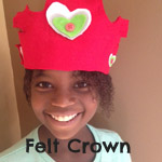 felt crown craft
