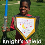 knight's shield craft