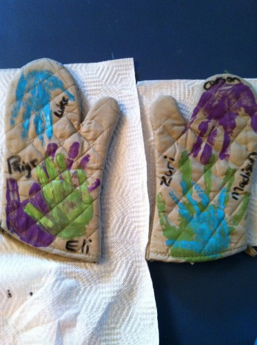 Oven Mitt Craft