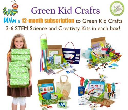 Green Kid Crafts Giveaway