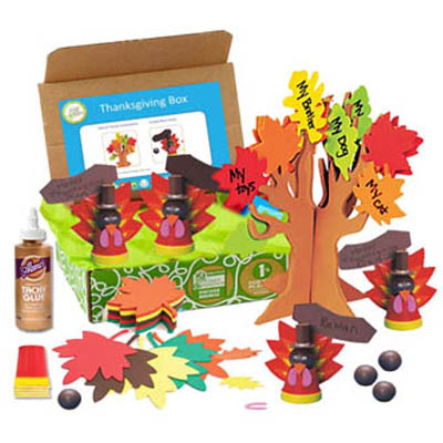 thanksgiving craft box