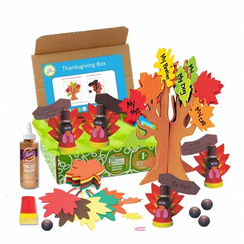 Looking for educational toys, science kits, monthly crafts for kids, monthly subscriptions for kids, a monthly craft box or kids craft subscription? Green Kid Crafts, kids craft subscription and maker of the best subscription boxes, including award-winning arts and craft subscription boxes and best monthly subscription boxes, has created this awesome Thanksgiving craft box for kids.