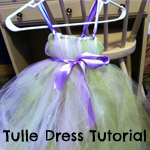 Tulle Dress Tutorial