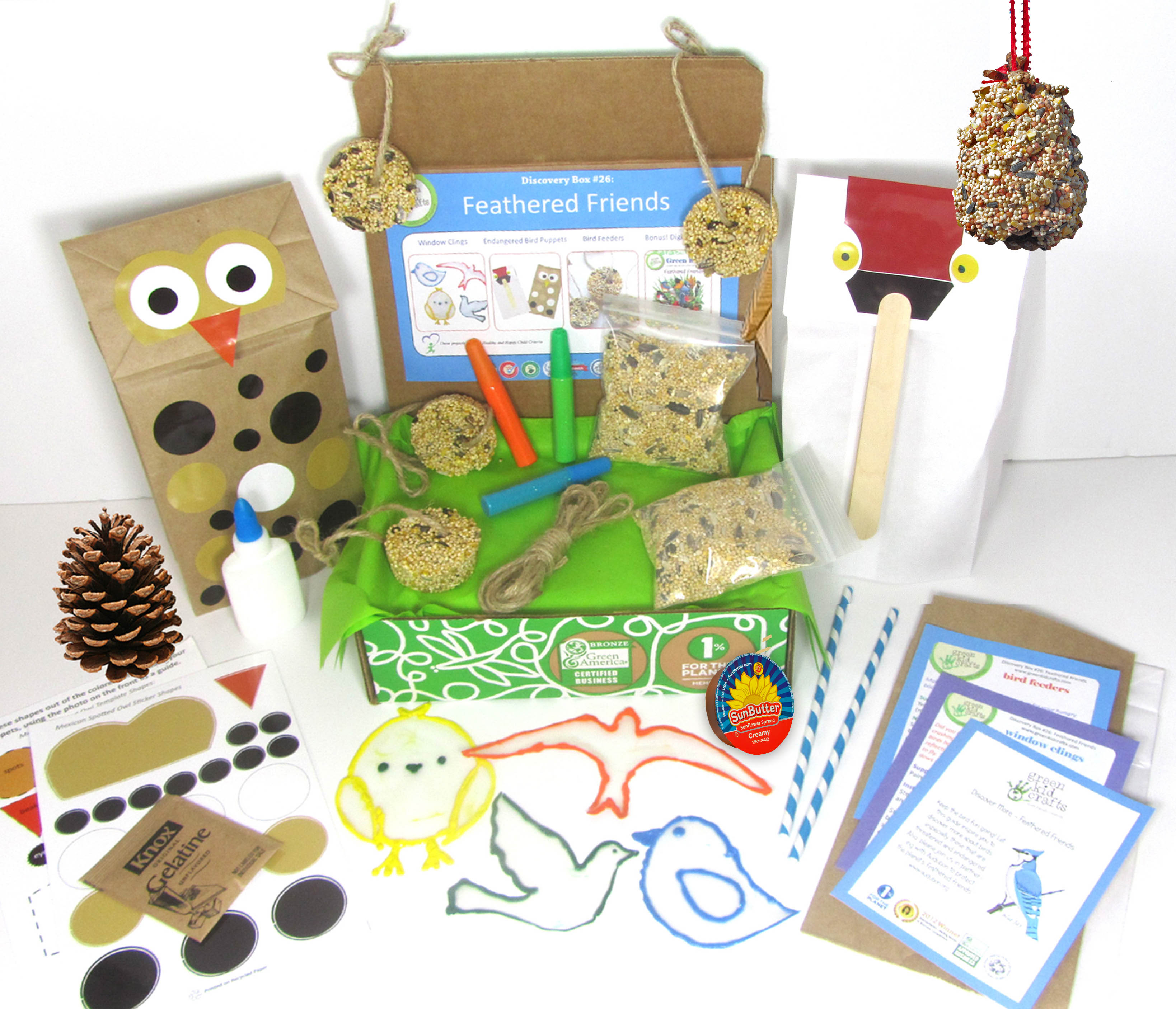 Its Fun To Try To Guess Which Type Of Bird Is Eating From The Egg Carton Bird Feeder Make Bird Crafts To Go Along With The Theme To Expand On This Nature