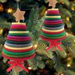 felt trees ornaments kit
