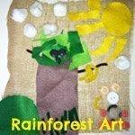 rainforest art