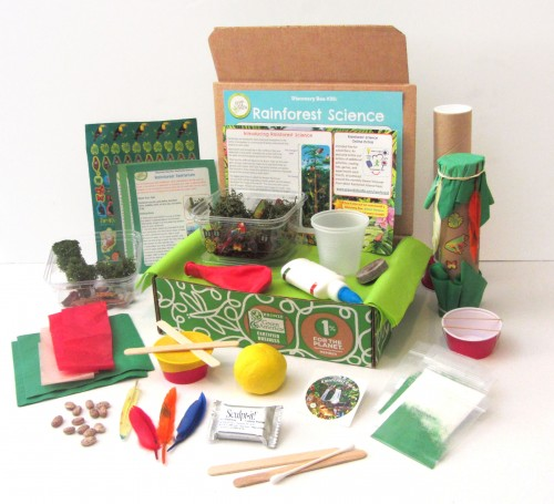 Rainforest Science Discovery Box