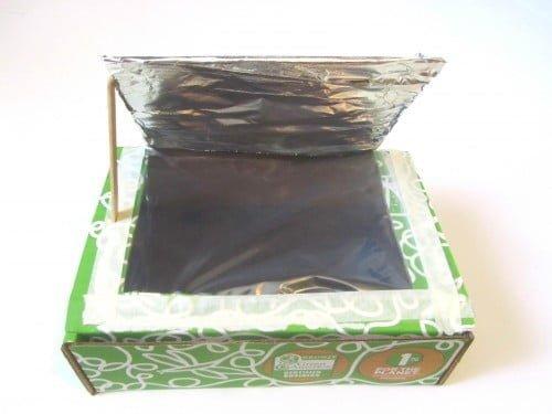 Cardboard Box Solar Oven