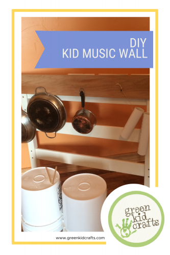 DIY Kid Music Wall