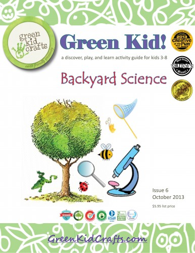 Backyard Science Green Kid! Activity Guide