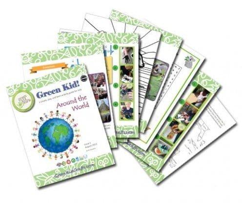 Green Kid Around the World Kids Activity Guide