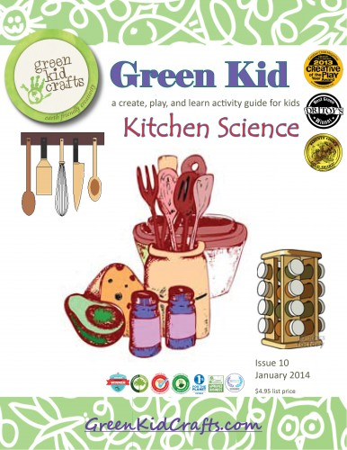 Kitchen science Green Kid Crafts