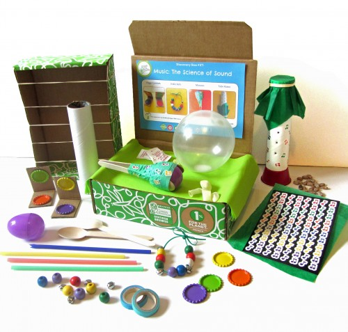 Green Kid Crafts Music Discovery Box