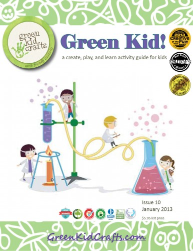 Green Kid Crafts mad scientist