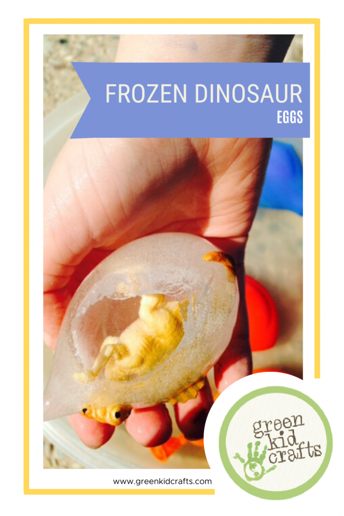 Frozen Dinosaur Eggs