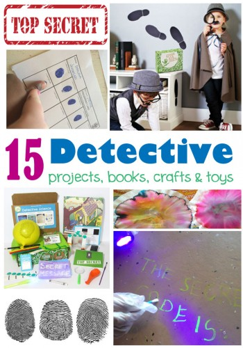 Detective Science for kids. More than just a detective kit, this box includes STEM and green craft activities to get kids learning!