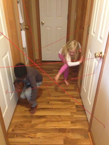 String Laser Game