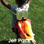 Jet pack craft