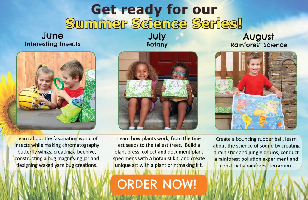 Green Kid Crafts Summer Science Series