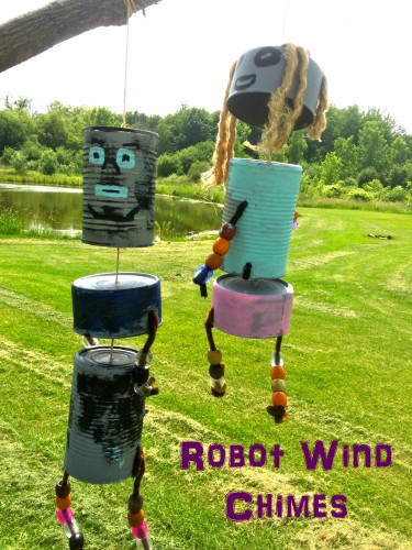 Robot Wind Chimes