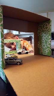 reuse cardboard box