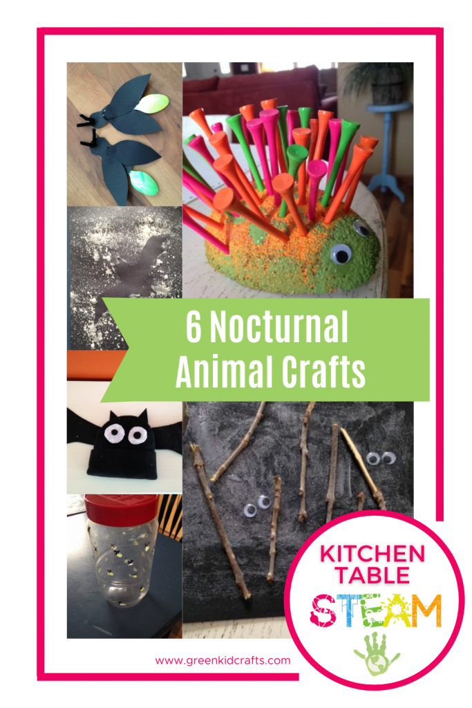 nocturnal animal crafts for kids