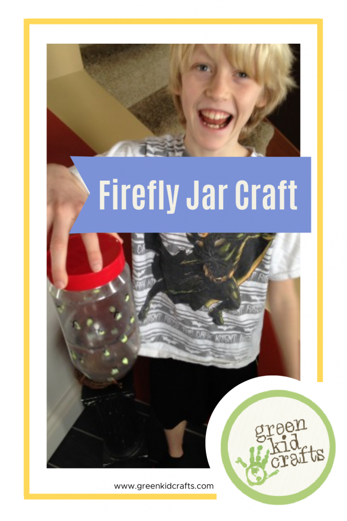 firefly jar craft