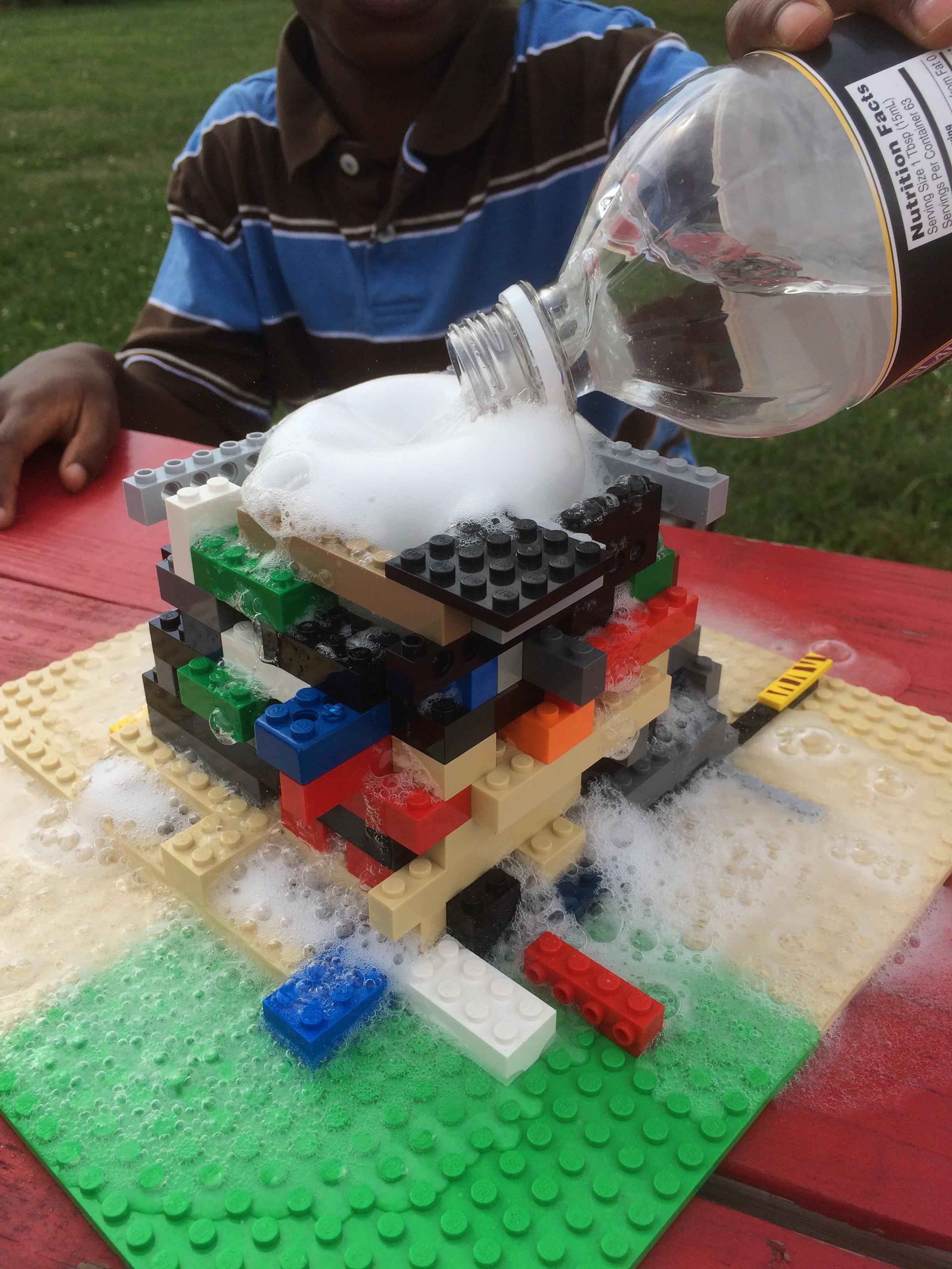 Lego Volcano