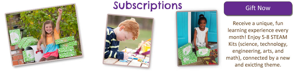 Green Kid Craft Subscriptions